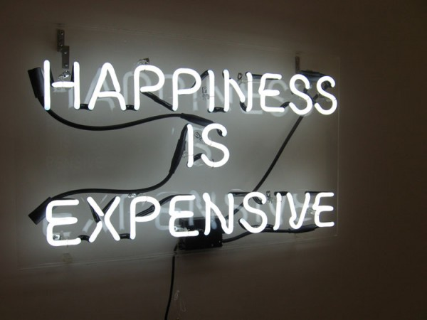 Happiness is expensive von Alejandro Diaz