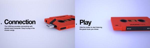 Digital Cassette Player