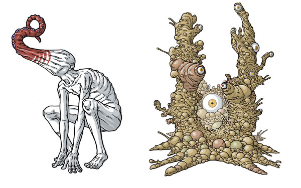Lovecraft Illustrationen