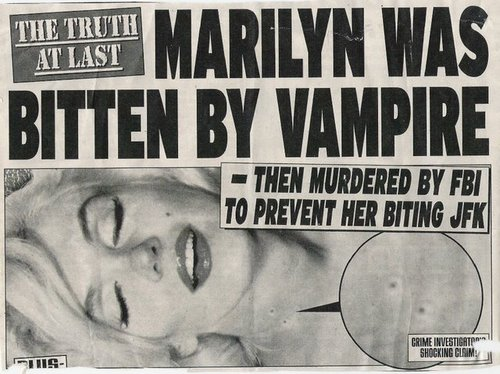 Marilyn was bitten by Vampire!