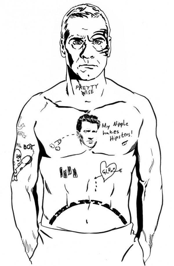 Neue Tattoos für Henry Rollins