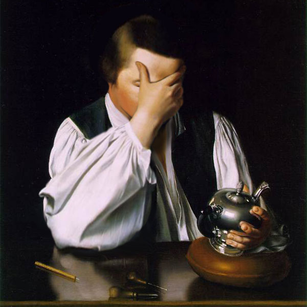 Paul Revere Facepalm