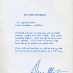 Dean Martin Burger