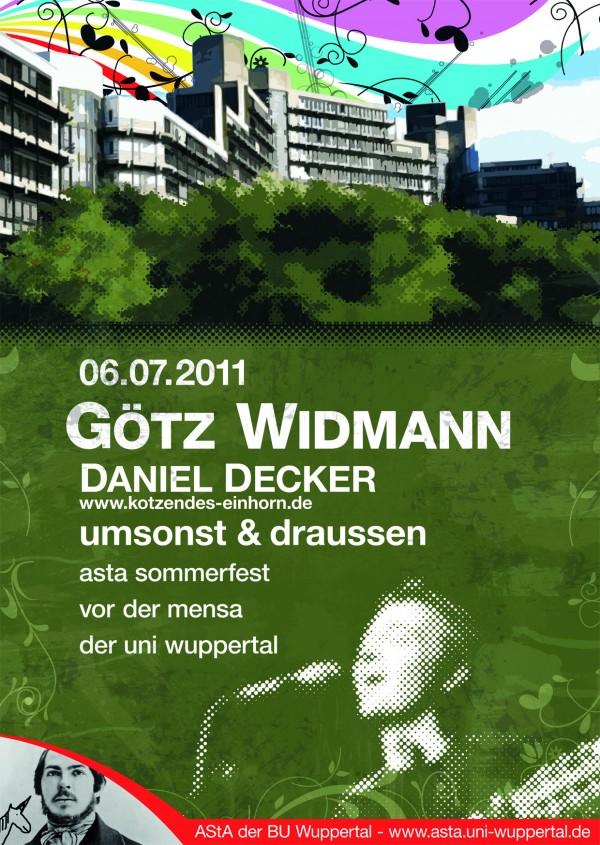 Sommerfest der Asta Uni Wuppertal 2011