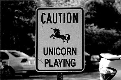 Caution Unicorn Playing!
