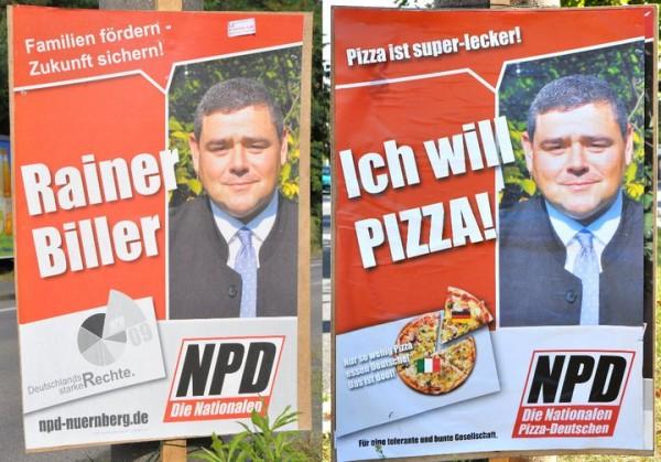 Die Nationalen Pizza Deutschen