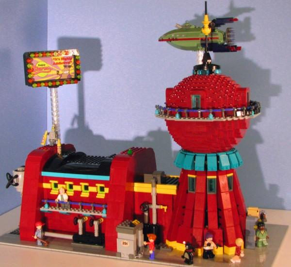 Futurama Lego