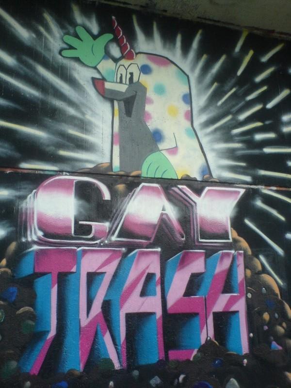 Gay Trash Maulwurf