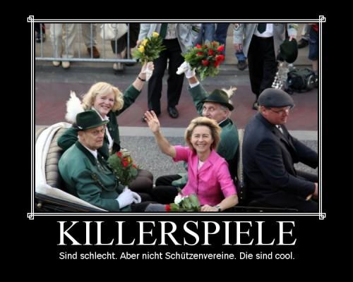 Killerspiele vs Schützenvereine