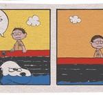 Der weiße Hai im Peanuts Style