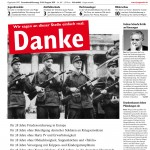 Das Titelblatt der Jungen Welt vom 13.08.2011