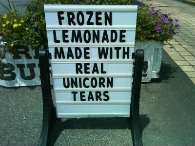 Limonade aus Einhorntränen