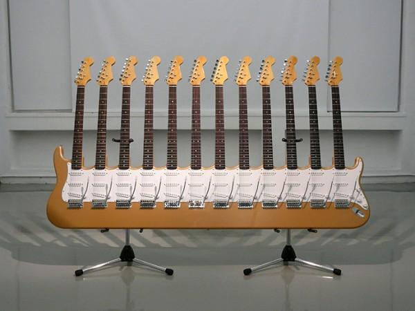 Yoshihiko Satoh 12 Neck Guitar