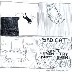 Warum Katzen keinen Selbstmord begehen können