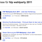 FDP Wahlparty 2011