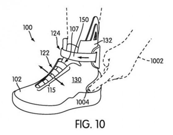 Nike Power-Lacing Patent