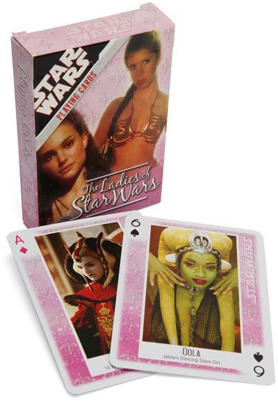 The Ladies Of Star Wars - Kartenspiel