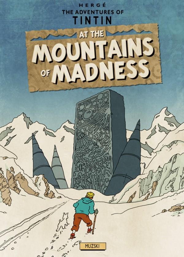 Tim und Struppi in die Berge des Wahnsinns