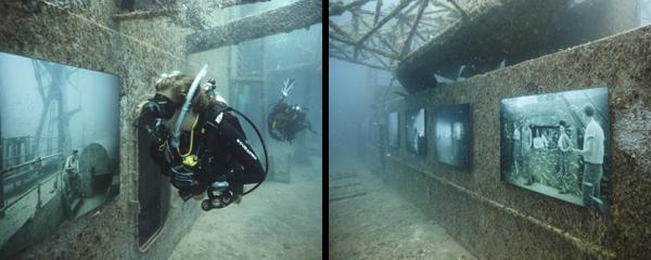 Die Vandenberg - Kunst unterwasser