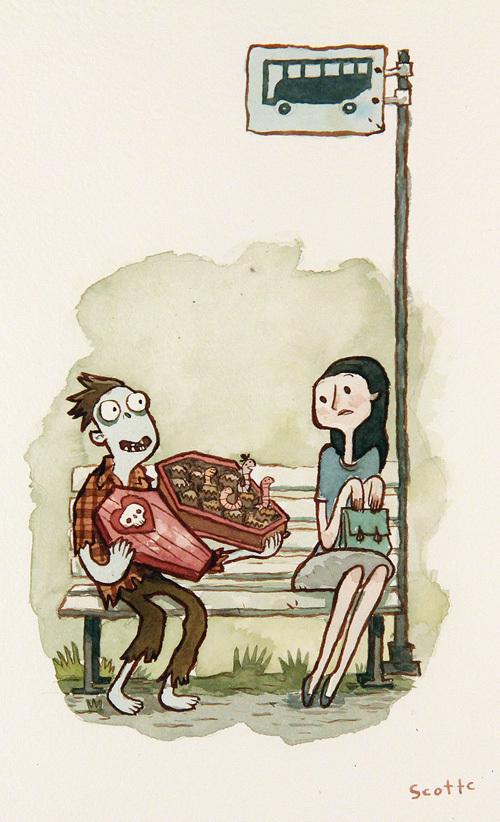 Zombie in Love von Scott C