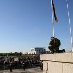 Vor dem Reichstag - Occupy Berlin