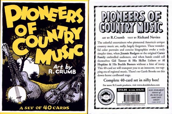 Robert Crumb Pioneers Of Country Music