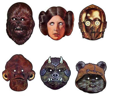 Star Wars Masken