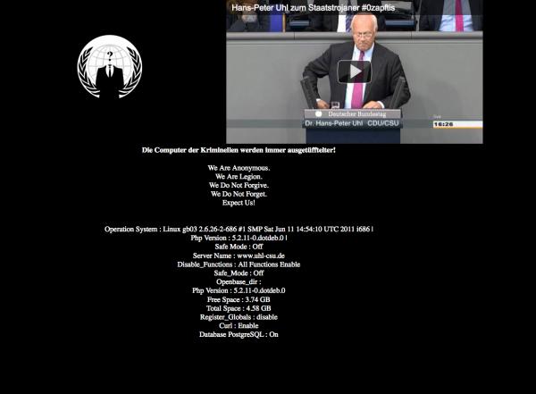 Uhl Website Anonymous