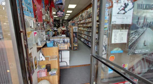 Comic Street View