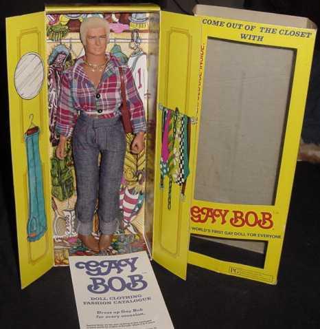 Gay Bob in Verpackung