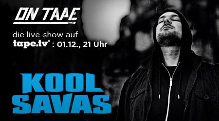 Kool Savas live bei On Tape