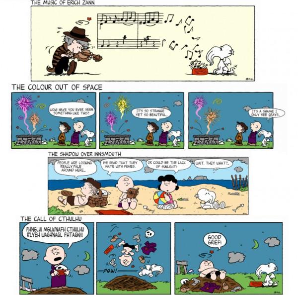 Lovecraft im Peanuts Style