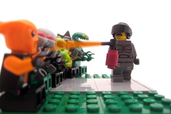 Pfefferspray Lego