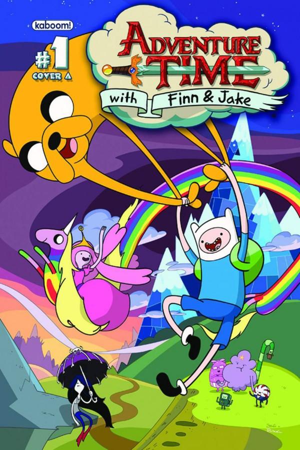 Adventure Time - Erste Comic-Heft Ausgabe