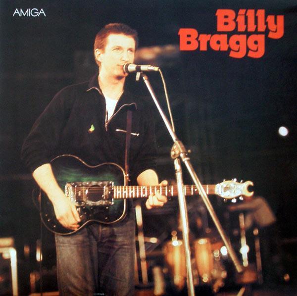 Billy Bragg LP auf AMIGA