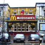 Mc Donalds in der roten Flora