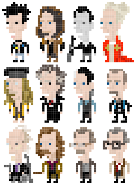 Gary Oldman in 8-Bit