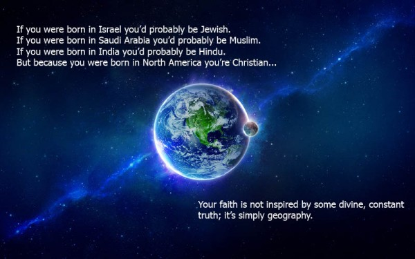 religion is geography