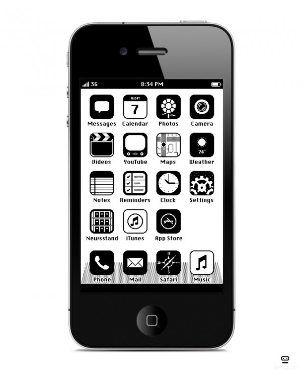 iOS im Retrostyle