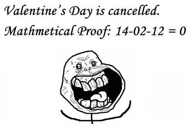 Valentinstag wurde abgesagt