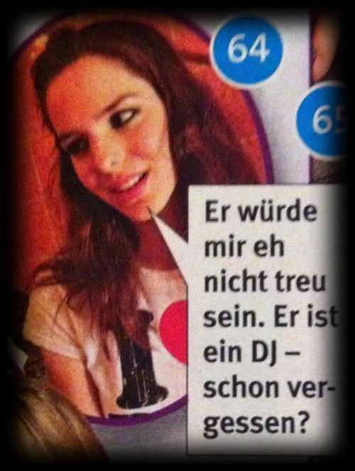 DJs und die Treue
