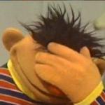 Facepalm Ernie