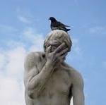 Facepalm mit Vogel