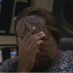 Facepalm Worf