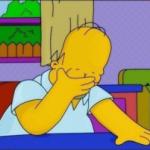 Facepalm Homer