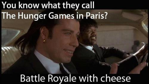 Hunger Games in Paris