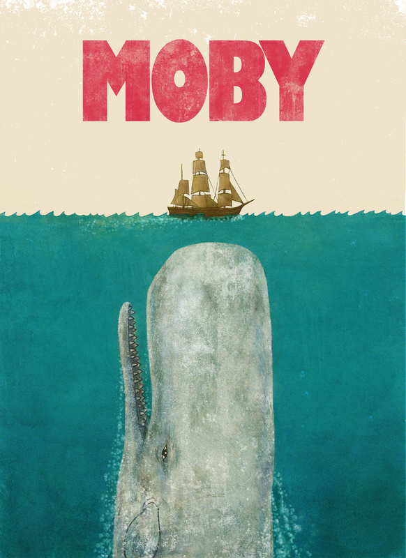 Moby Dick Jaws Mash Up