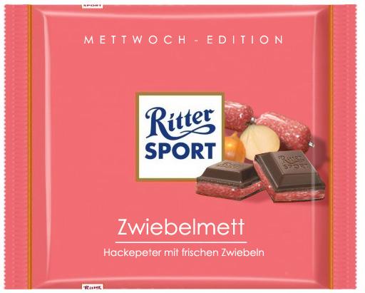 Rittersport Zwiebelmett