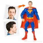 Dein eigener Superheld mit Deinem Gesicht