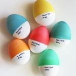 Pantone Eier